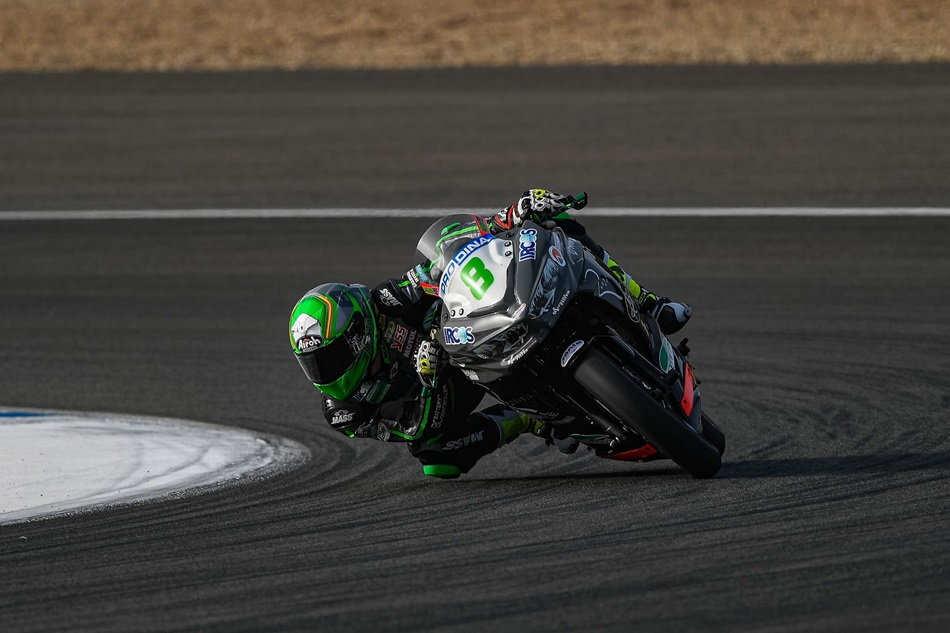 Baz, Locatelli y Pérez lideran el viernes en Jerez