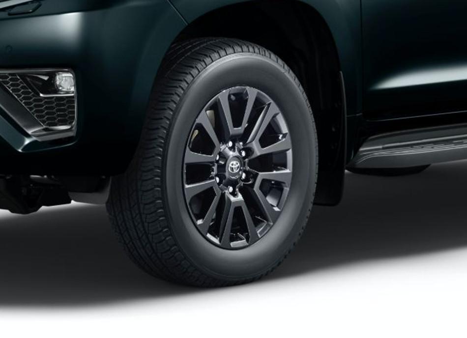Toyota Land Cruiser Prado mejorada