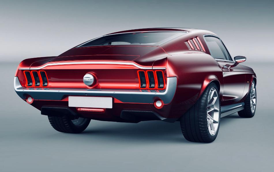 Aviar R67. ¿Es un Mustang o un Tesla?