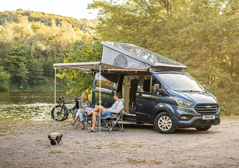 Ford presentó el Transit Custom Nugget Plus