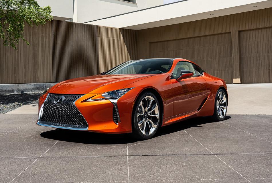 Lexus mostró el nuevo LC 2021