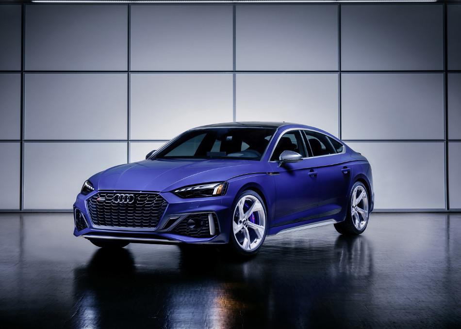 Audi presentó el nuevo RS 5 en versiones especiales