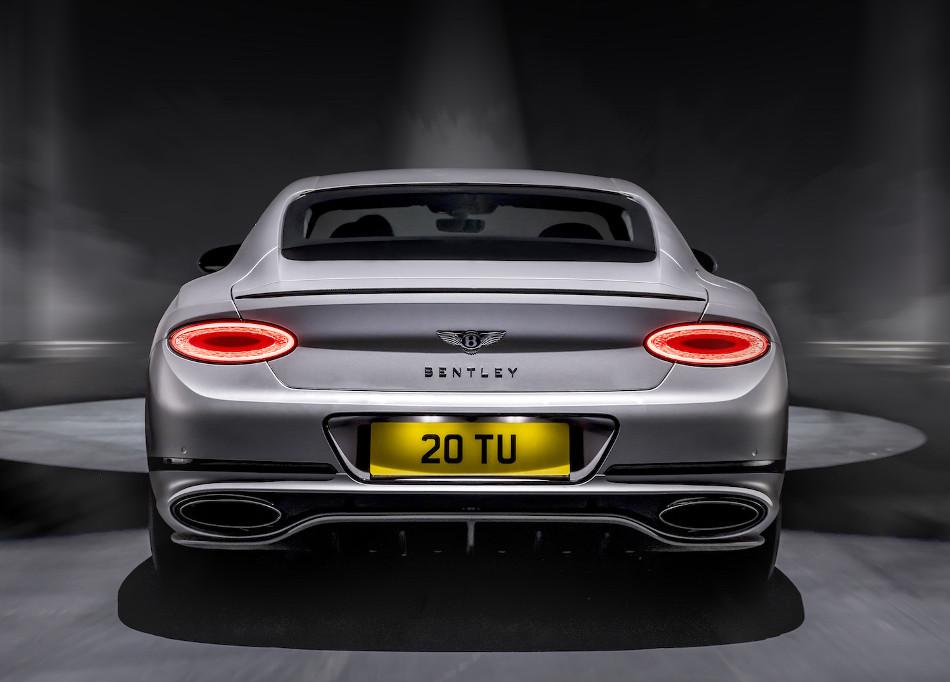 Bentley presentó el nuevo Continental GT Speed