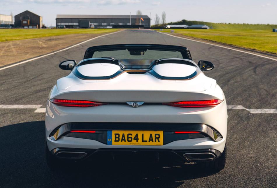 Bentley lanzó el Bacalar Roadster Special
