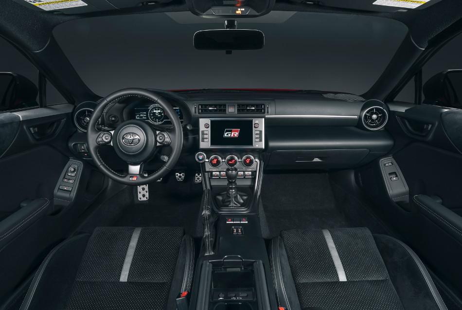 Toyota mostró el GR 86 2022