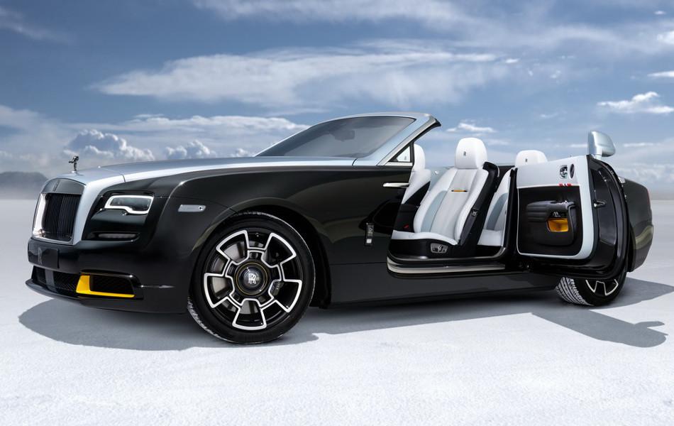 Rolls Royce Wraith y Dawn Black Badge