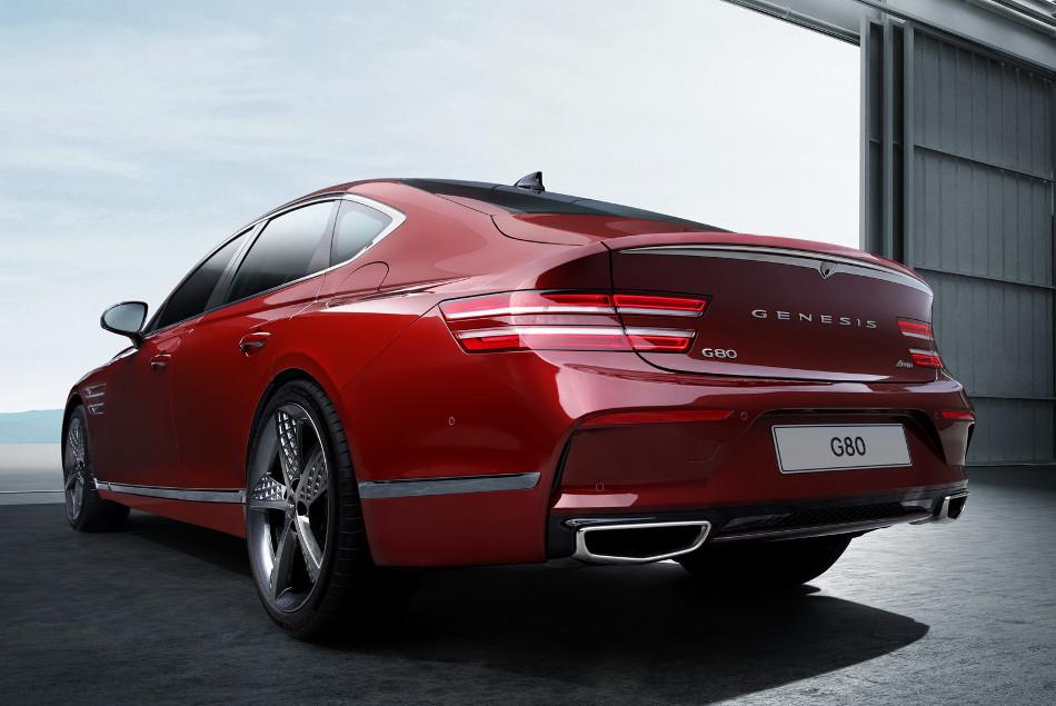 Genesis presentó el G80 Sport 2022