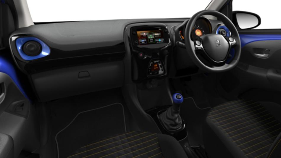 Nueva actualización disponible para el Peugeot 108