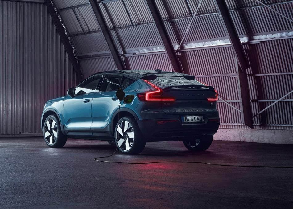 Volvo presentó el nuevo C40 Recharge