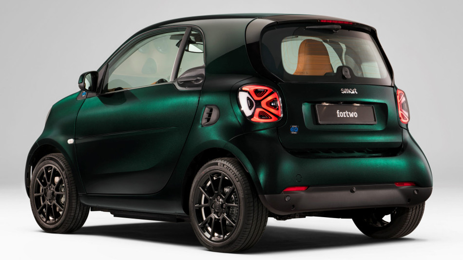 Brabus Smart Racing Green Edition