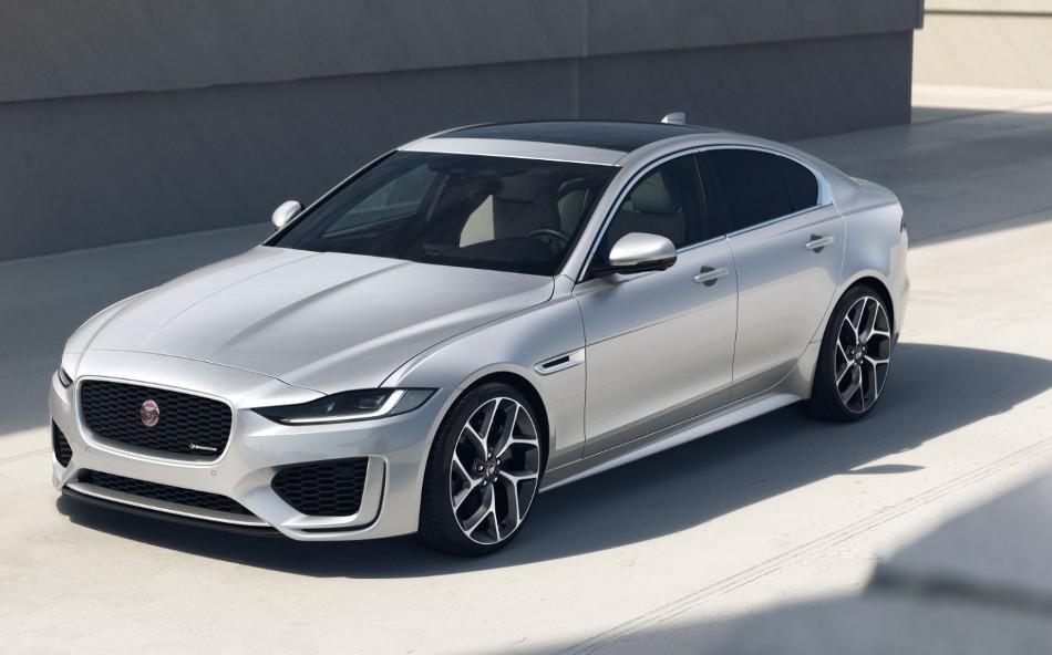 Jaguar XE y XF R-Dynamic Black