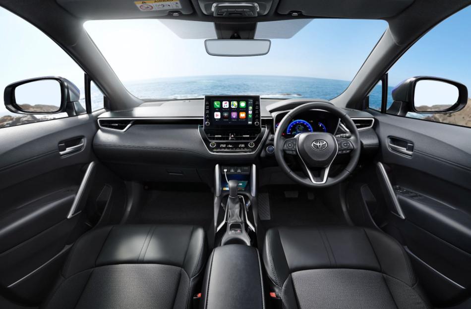 Toyota mostró el Corolla Cross para Japón