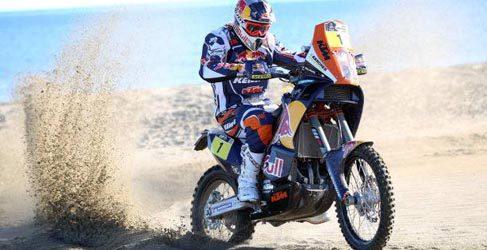 Dakar 2013, etapa 3: Peterhansel en coches y Despres en motos líderes sin ganar la especial