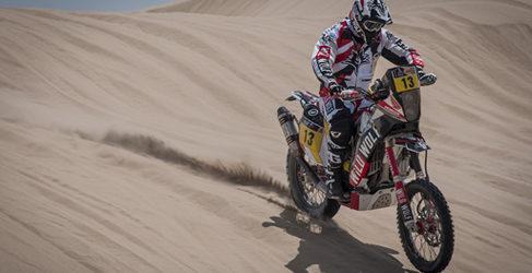 Difícil tercera etapa en el Dakar 2013 para los pilotos españoles de motos