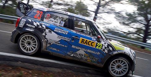 Jarkko Nikara y Pontus Tidemand en el Rally de Suecia