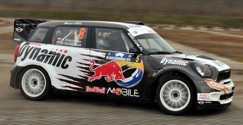 Michal Kosciuszko con un Mini JCW WRC en las trece pruebas del Mundial