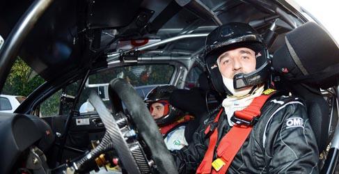 Robert Kubica con el Ford Fiesta RRC en 10 pruebas del ERC