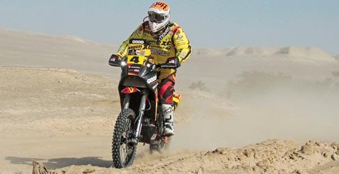 Etapa difícil en motos para los españoles entre Arica y Calama