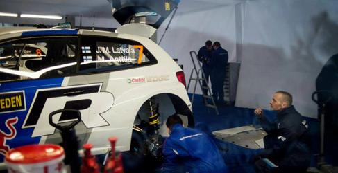 Latvala domina el shakedown y Sebastien Ogier la Qualifying Stage en Suecia