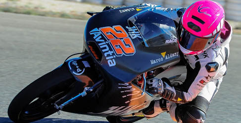 Maverick Viñales domina el test KTM en Almería