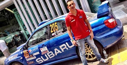 Nicolás Bedoya hará debutar a Colombia en el WRC