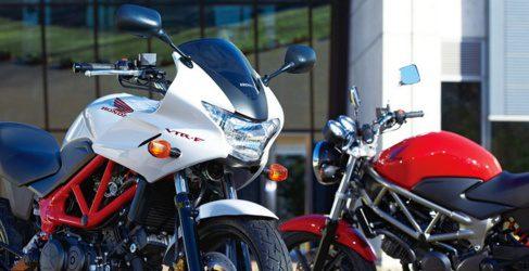 Honda VTR250: llega la versión F, la semicarenada