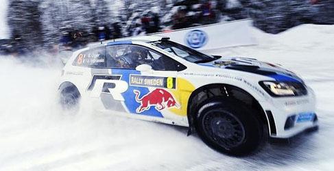 Drones y sorteos en Volkswagen WRC