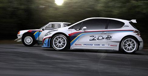 Turbo 16, el nuevo nombre del Peugeot 208 R5