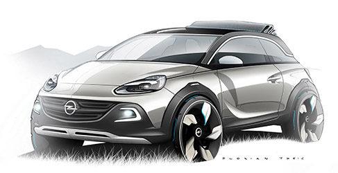 Mini-Crossover, nuevo concepto de Opel