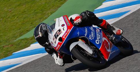 El Team Machado Ongetta contento con los test en Jerez