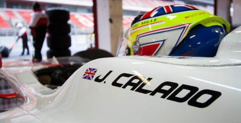 James Calado marca la pauta en la penúltima jornada de test de GP2
