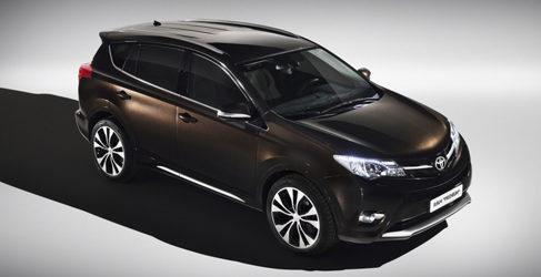 Nuevos Toyota RAV4 Adventure y Premium