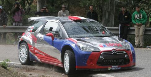 Test previo al Rally Islas Canarias en Tejeda