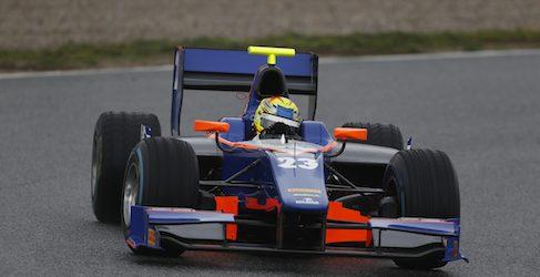 Pal Varhaug y Conor Daly, pilotos de Hilmer GP2 en Malasia
