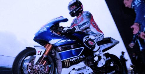 Jorge Lorenzo lidera el test MotoGP de Jerez en un arranque lluvioso