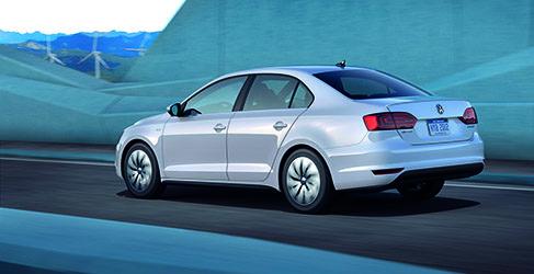 Volkswagen Jetta Hybrid Trasera