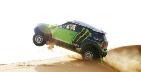 Stepháne Peterhansel en el Dakar 2014 con X-Raid