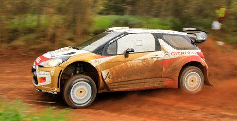 Dani Sordo y Citroën de test en Portugal