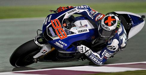 Pole de Jorge Lorenzo en el GP de Catar de MotoGP