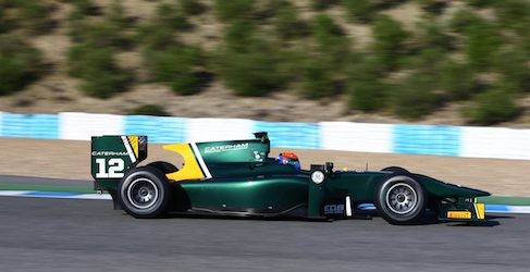 Alexander Rossi por Ma Qing Hua en Caterham GP2 lo que resta de temporada