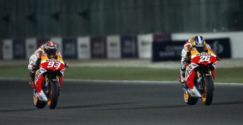 Marc Márquez y Dani Pedrosa a por el GP de las Américas