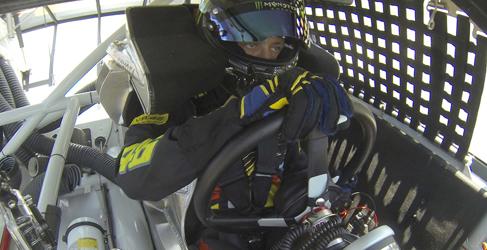 Valentino Rossi, piloto Nascar por un día