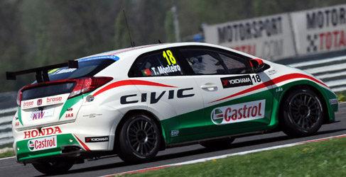 Honda encantado con el top 3 de la clasificación