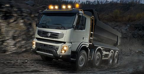 Desde el Volvo FMX en construcción al FE híbrido