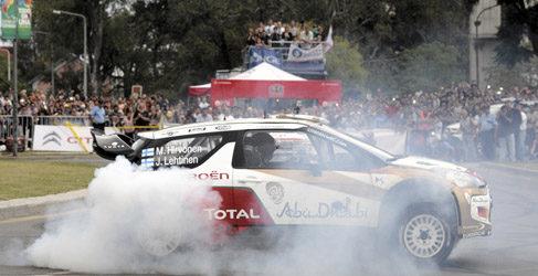 Citroën estrena el Rally de Argentina con un roadshow