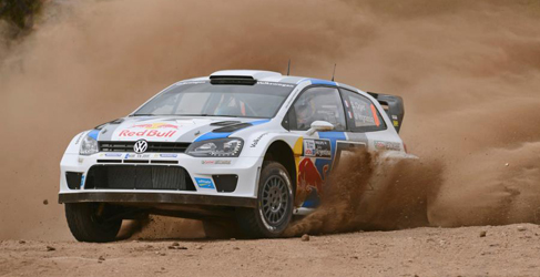 Sebastien Ogier es el primer líder del Rally de Argentina