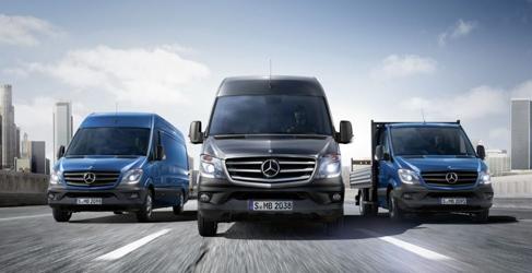 Mercedes-Benz trae la nueva Sprinter tras seis años