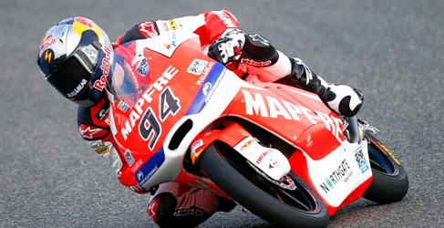 Jonas Folger supera en los FP2 de Moto3 a la tropa española