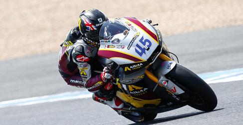 Tito Rabat se estrena en Moto2 tras fugarse en Jerez