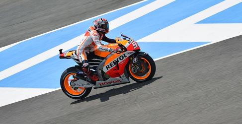 Márc Márquez lidera el test post-GP en Jerez